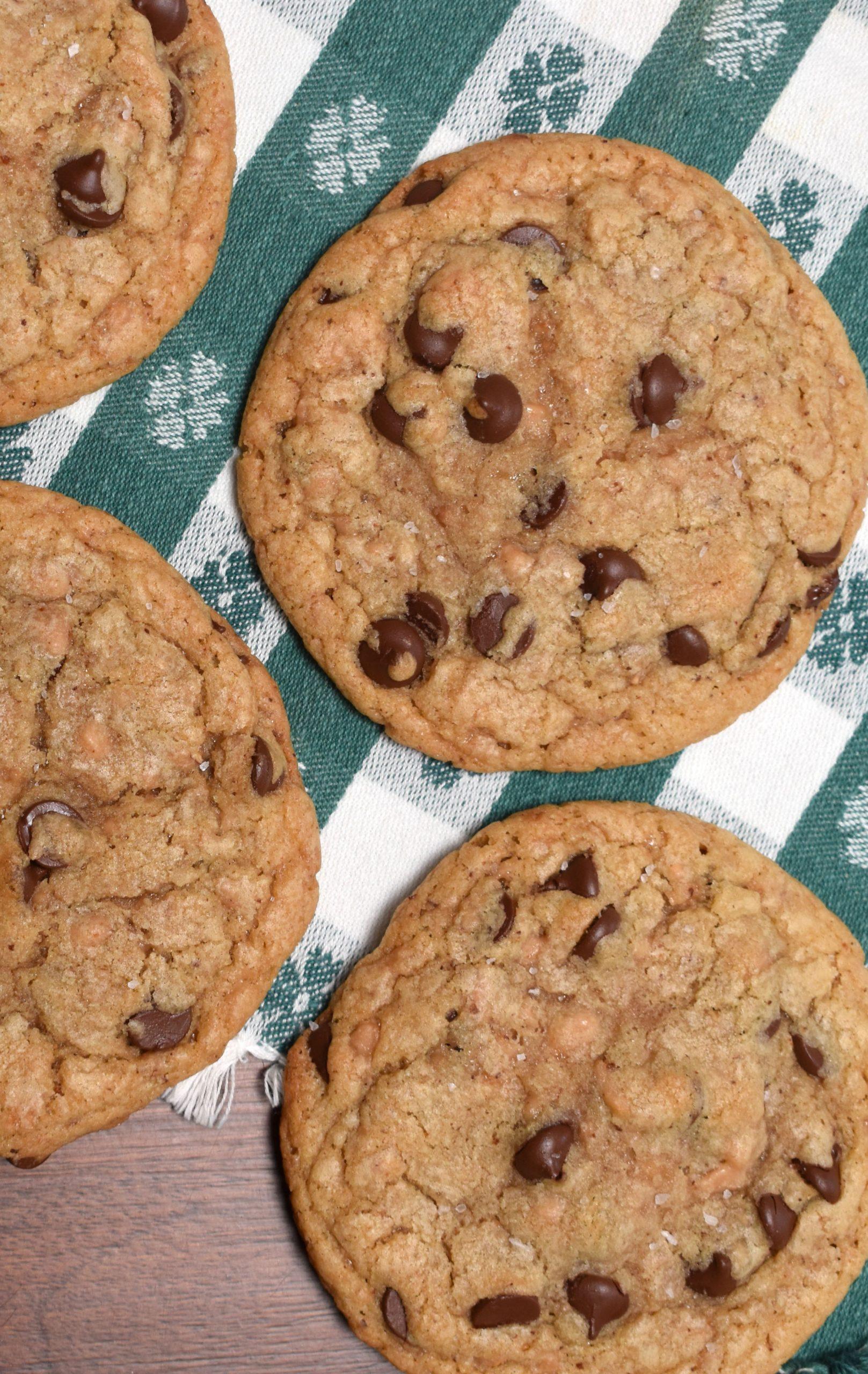 Grandpa\'s Favorite Chocolate Chip Cookies
