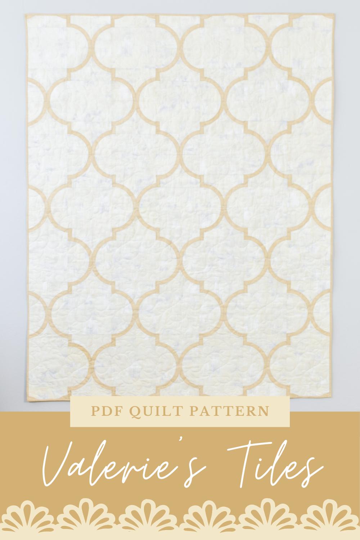 Valerie\'s Tiles Quilt Pattern