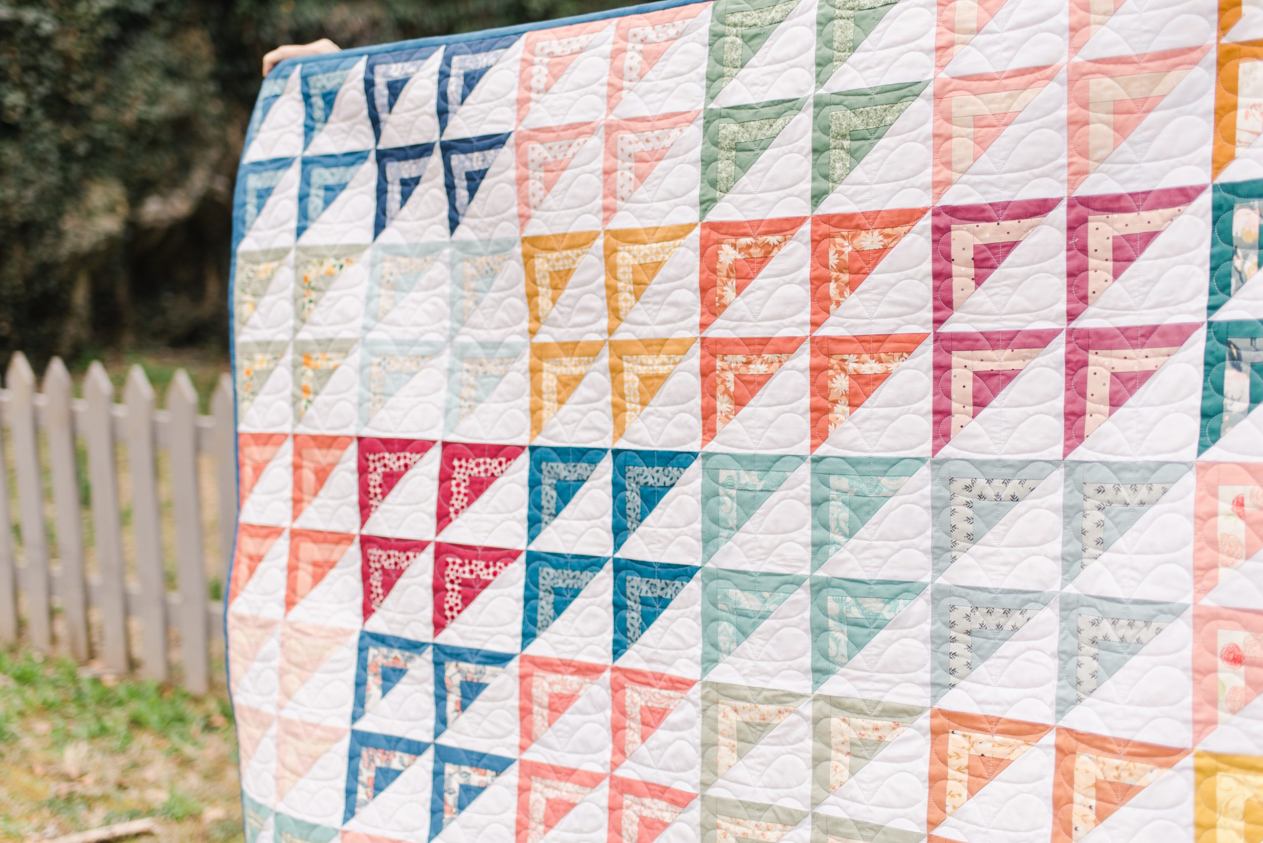 The In-Between Quilt Pattern for Modish Quilter Magazine